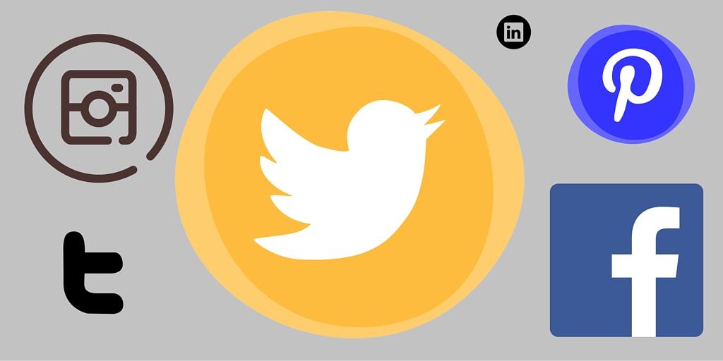 Hashtaggar i sociala medier