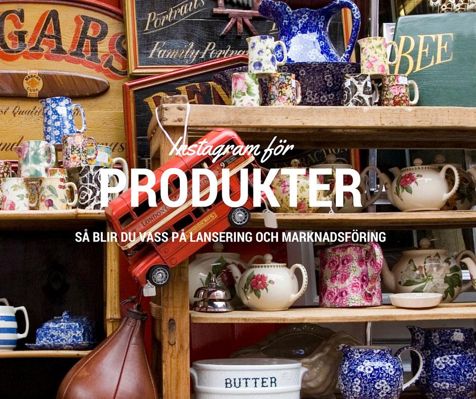Produkter på Instagram