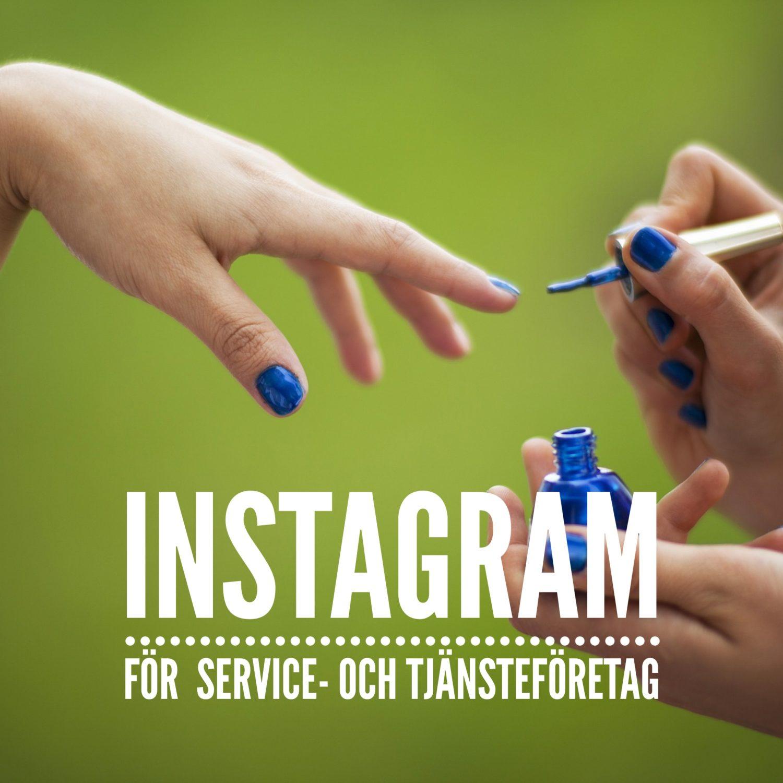 instagram för tjänster och serviceföretag